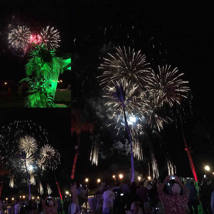 IBOAI at Diamond Club 2017 - Fireworks!