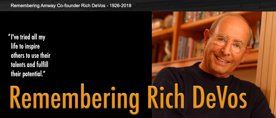 Remembering Rich DeVos