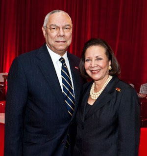 General & Mrs. Colin Powell