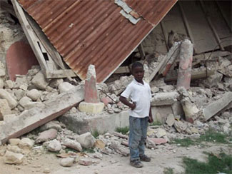 Haiti is a poor country with few modern building codes, resulting in the collapse of many dwellings in the capital of Port-au-Prince.
