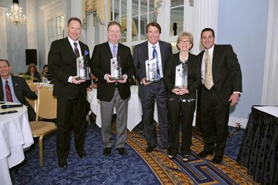 Joe Markiewicz, Brad Duncan, Bill Hawkins, Kathy Victor